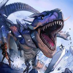 Monster Hunter(Tigrex)