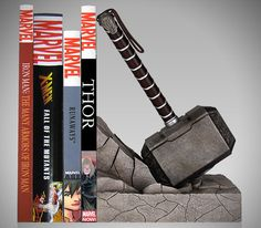 15 Coolest Bookends For Your Home Library   HiConsumption
