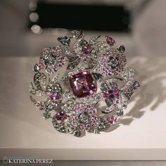 "KATERINA PEREZ on Instagram: ""Intricate #brooch from brand new #highjewellery collection COCO AVANT CHANEL by #ChanelJoaillerie. It features a gorgeous #spinel of 10.02…"""