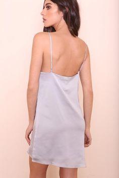 Silver Lining Slip Dress - FINAL SALE