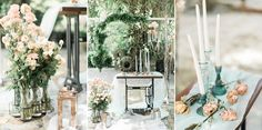 Playing on their love of the outdoors, this couple knew Rancho Las Lomas was the perfect venue for them. They tied the knot with an al fresco affair and no shortage of lush, organic-style greens to pl. Wedding Couples, Wedding Blog, Lush, Rustic Wedding, Table Decorations, Floral, Outdoor, Inspiration, Home Decor