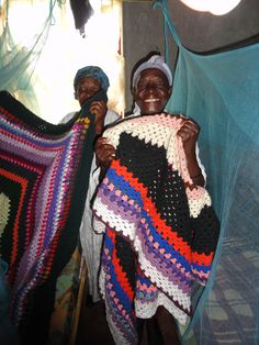 The widows at the widow care center learned how to crochet blankets for their beds. Crochet Blankets, Learn To Crochet, Beds, African, Bedding, Bed, Blanket Crochet, Crochet Security Blanket