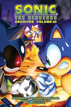 "Sonic The Hedgehog ""ARCHIVES"" - #23. Buy it now at the Archie Comics online store!"