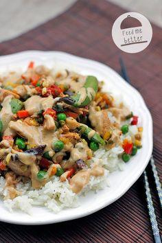 Feed Me Better: Chińszczyzna z sosem orzechowym.