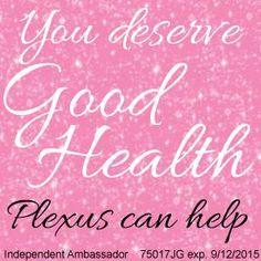 Plexus has changed my life!