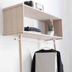 Garderobe zum Anlehnen 'Töjbox' #Affiliate #affiliatelink