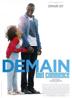 "♥♥♥♥♥  ""Demain tout commence"", une dramédie d'Hugo Gélin avec Omar Sy, Clémence Poésy, Gloria Colston, Antoine Bertrand... (11/2016)"