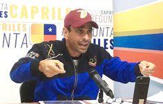 Afirmó Henrique Capriles No nos vamos a calar más violaciones a nuestros derechos - Diario de Los Andes