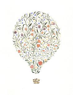 Flower Hot Air Balloon