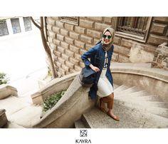 Keyifli yeni bir haftaya; kot rahatlığıyla✌🏻️| Peace!  Ürün kodu | Ref no: B6 14133 #Kot #Kap; B6 21169 #Tunik ; S 107 #Latte #İpeksal ; B6 CNT02 #canta; B6 19025 #Pantolon #Kayra #streetstyle #kayraweekend #kayrastyle #ootd #hijab #hijabi #hijabstyle #shades #denim #scarf #kombin