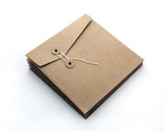Square String-Tie Envelope [pack of 10]