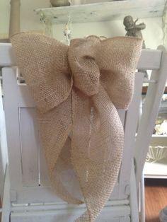 20 Burlap Bows Rustic Wedding Decor Rustic by ShabbyGirlNextDoor, $150.00