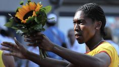 """""""If successful, (Caster) Semenya's effort could open the door for all who identify as women to compete in track events without having to first medically lower their testosterone levels below a proposed limit,"""" wrote Edwin Moses. Caster Semenya, 400m Hurdles, High Testosterone Levels, African National Congress, Great Comebacks, 2012 Summer Olympics, Basketball Legends, Influential People, Sports Stars"""