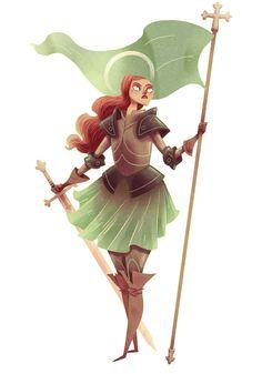 Female Warrior Character #female #warrior интересные пропорции фигуры