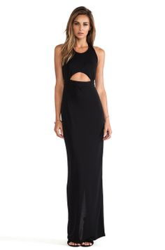Perfect Maxi Dress for Day or Night. Love the front cut out detail. #REVOLVEclothing