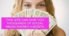 LinkCollider - Free SEO Tools Plus Social Media Sharing,How to get free Social Media Shares Easy ?