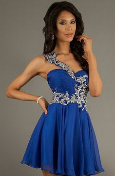 Prom Dresses... If it was only a tad bit longer (so it'd be modest) ^-^