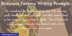 romance fantasy writing prompts