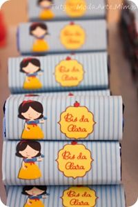 Festa Pronta - Branca de Neve Tuty - Arte & Mimos www.tuty.com.br