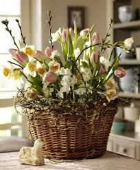 Výsledek obrázku pro proutěné nádoby na květiny