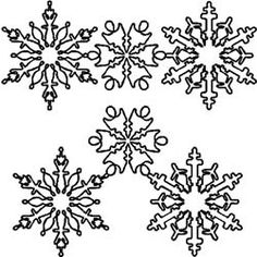 Quilt Stencils By Julie Mullin Snowflakes 7in and 10in. These high quality reusable quilt stencils feature creative designs that you can transfer using pounce, temporary transfer pens, chalk and more.