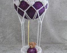 Hot Air Balloon with cute Teddy Bear