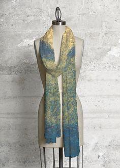 Cashmere Silk Scarf - Perennials by VIDA VIDA CsaRL