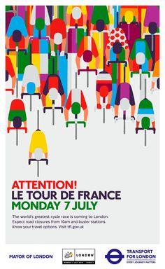 Le Tour de France sAffiche à Londres avec Autorité