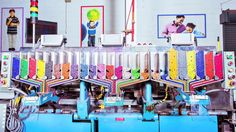Process Crayola by Elise Craig, wired.com:  Inside the Rainbow Factory where crayons are made.  #Crayons