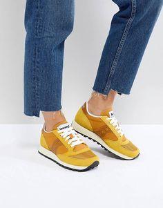 Saucony Jazz Original Sneakers In Orange