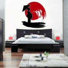 Vinilos Decorativos Orientales Geisha