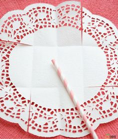 24 Ideas to Grow a Successful Vegetable Garden Paper Doily Crafts, Doilies Crafts, Paper Doilies, Diy Paper, Diy And Crafts, Arts And Crafts, Creative Gifts, Holidays And Events, Paper Flowers