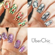 UberChic Beauty Christmas Plate Review