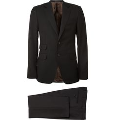 Slim Fit Two Button Suit by Gucci