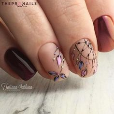 Look, I got a dream catcher #dreamcatcher #nails #inspiration #manicure