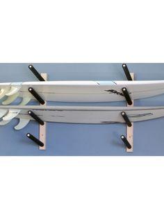 Surfboard Rack   Choose 2 to 6 Boards Surfboard Storage, Surfboard Rack, Kayak Storage, Fishing Storage, Wall Mount Rack, Wall Racks, Diy Projects Plans, Wood Projects, Garage Organisation