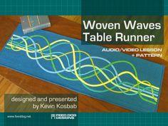 Woven Waves Table Runner video