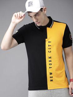 Men t-shirts - buy t-shirt for men online in india Tall Men Fashion, Indian Men Fashion, Men's Fashion, Polo Shirt Outfits, Blue Polo Shirts, Polo Shirt Design, Shirt Print Design, Camisa Polo, Cheap Ralph Lauren Polo