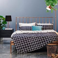 copper bed frame - Google Search