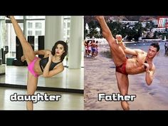 """Jean Claude Van Damme trained his """"daughter and Son"""" in martial arts - YouTube"""