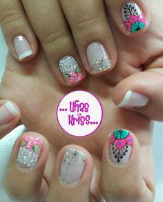 Elsa, Nail Designs, Hair Beauty, Designed Nails, Pretty Toe Nails, Cute Nails, Nail Desings, Nail Design
