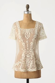 Lace!! {with a nice cami underneath!}