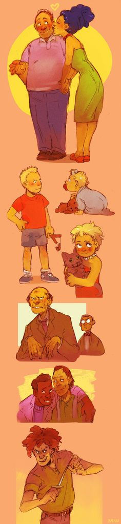 The Simpsons Re-Imagined, this is pretty awesome!