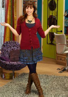 Sonny in her dressing room. :)