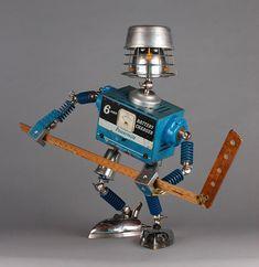 Реалистичные и очень эмоциональные роботы Брайана Маршалла