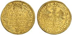 AV Ducat. Germany Coins, Frankfurt, Free City. 1646. 3,39g. F 976. Good VF. Price realized 2011: 650 USD.