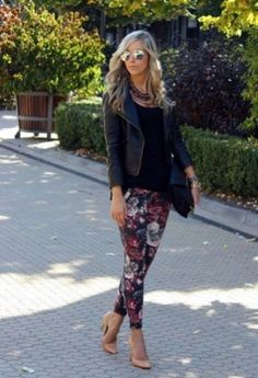 Fabulous Winter Outfits Ideas With Leather Leggings 01