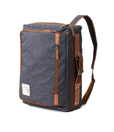 Mega Function Backpack Grey by BagDoRi on Etsy