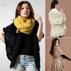Special price Alishebuy Women Shawl Cardigans Batwing Sleeves Fashion Sweater Autumn Spring Winter Coat Warm Long Cardigans just only $12.30 - 16.68 with free shipping worldwide  #womansweaters Plese click on picture to see our special price for you