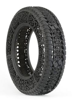 Tire carving by Wim Delvoye